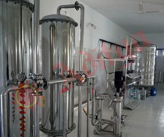 minaral water isi project manufacturer in gujarat
