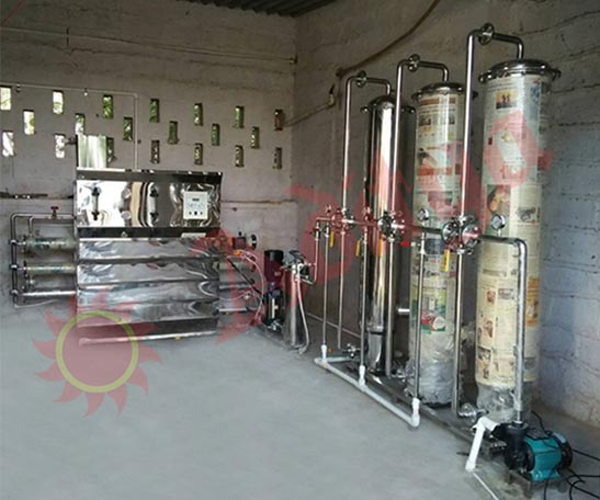 Commercial Reverse Osmosis plant Exporter