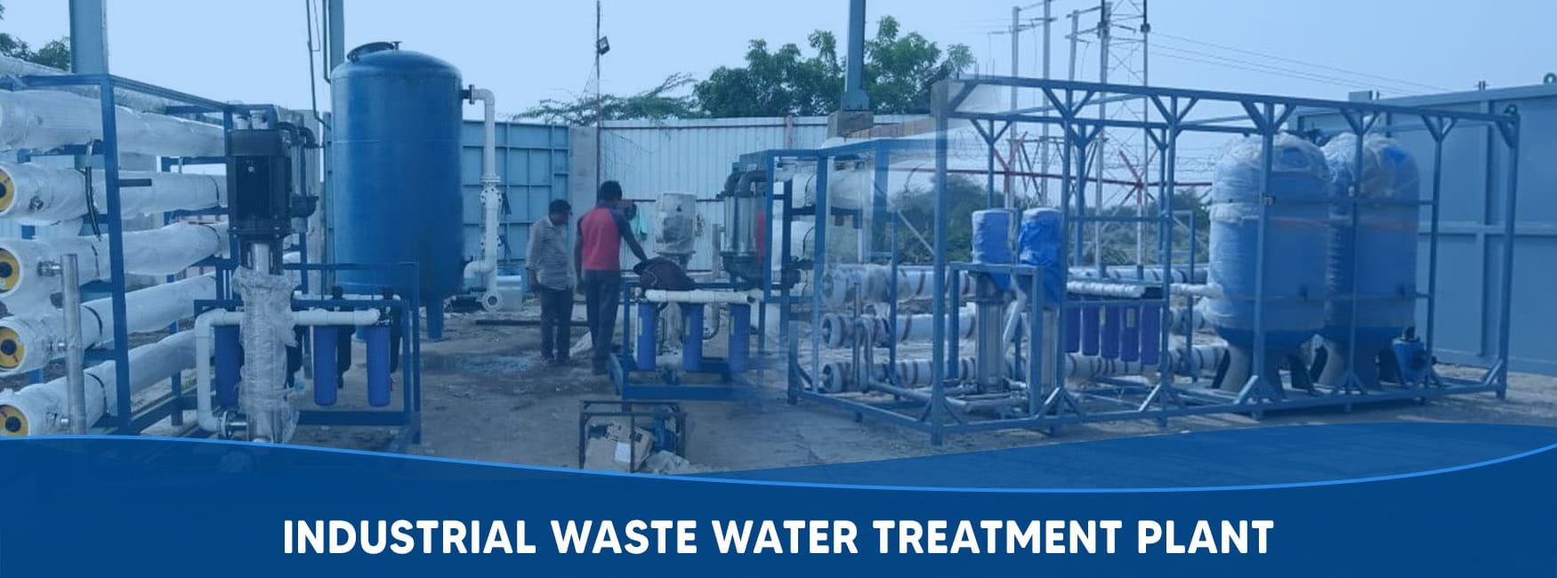 Industrial Waste Water Treatment Plant Manufacturer, Supplier and Exporter in Gujarat, India